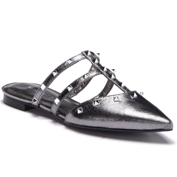 Marc Fisher Shoes - (NEW) Marc Fisher Amazie Studded Flats